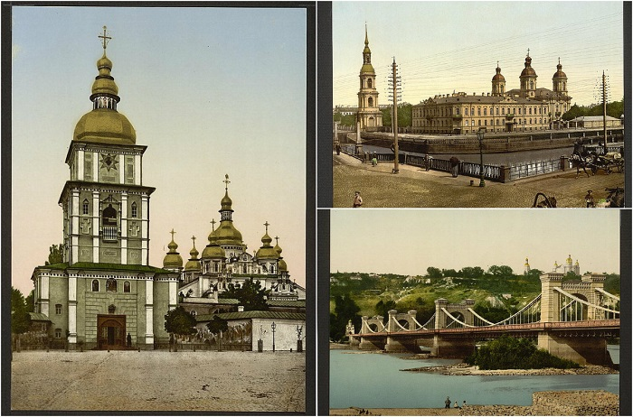 Снимки столетней давности.