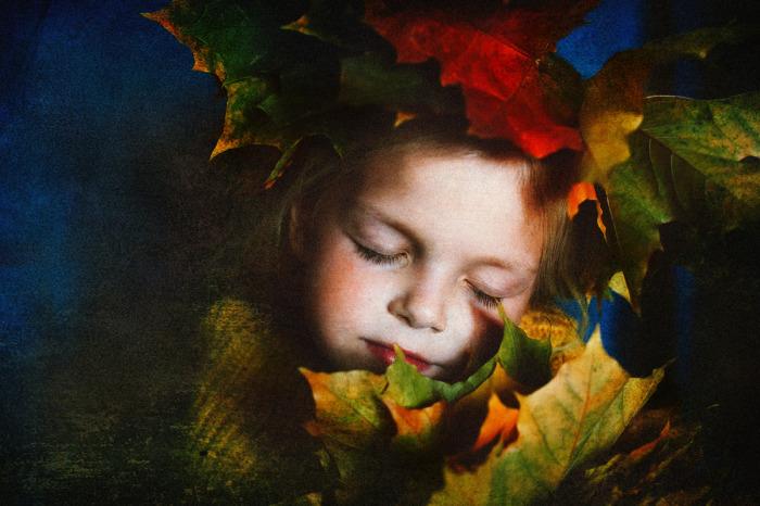 Сон в осеннем саду. Автор фотографии: Олеся Турукина.