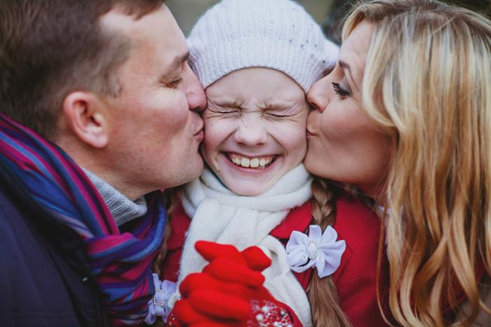 Настоящая любовь родителей. Автор фотографии: Марина Денисова.