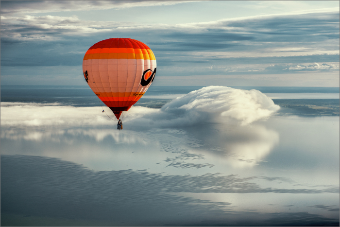 Полёт выше облаков. Автор фотографии: Петрова Елена Валерьевна.