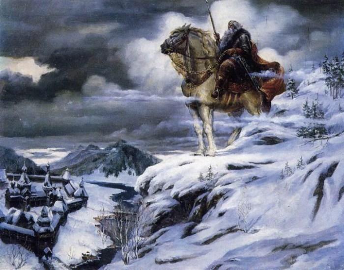 Святогор — богатырь-великан настолько большой и сильный, что даже Мать — Сыра Земля не могла его выдержать.