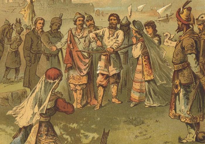 Один из популярнейших трагических богатырских образов в русских былинах.