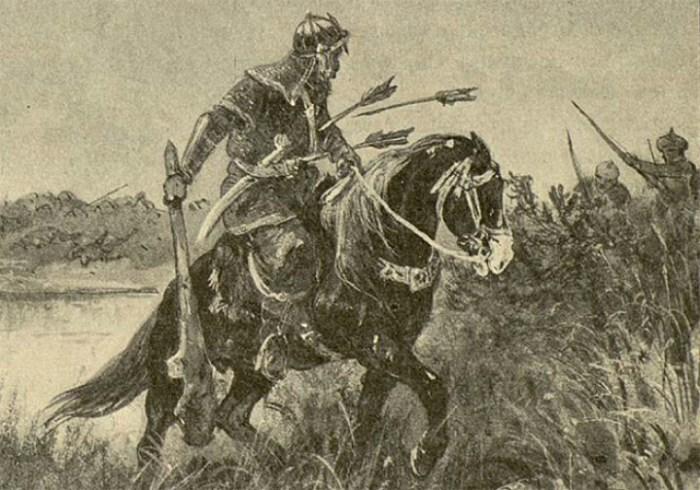 Былинный богатырь, герой киевского былинного цикла.