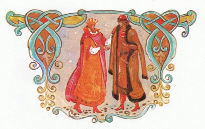Богатырь в русских былинах, выступающий в одной былине в роли свата и жениха.