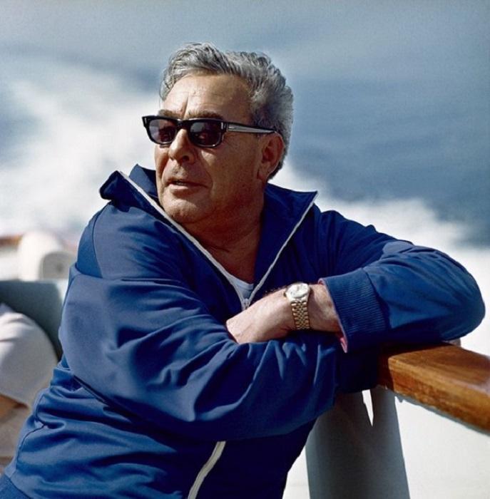Леонид Ильич Брежнев на отдыхе, 1971 год.