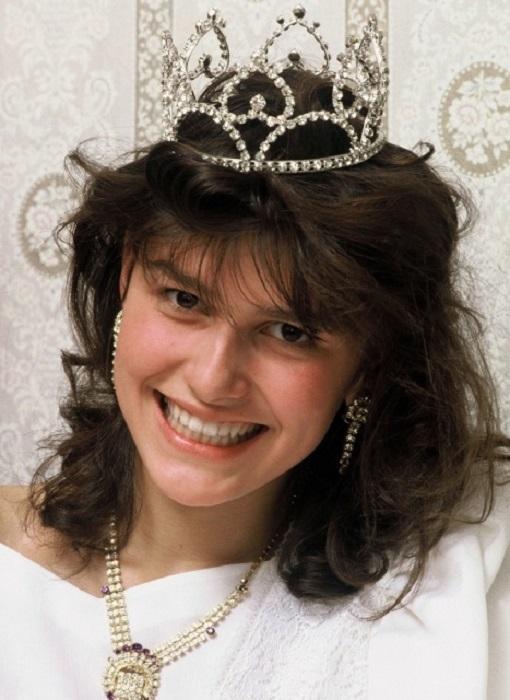 В 1988 году Мария Калинина стала победительницей первого конкурса красоты под названием «Московская красавица», который проводился в Советском союзе.