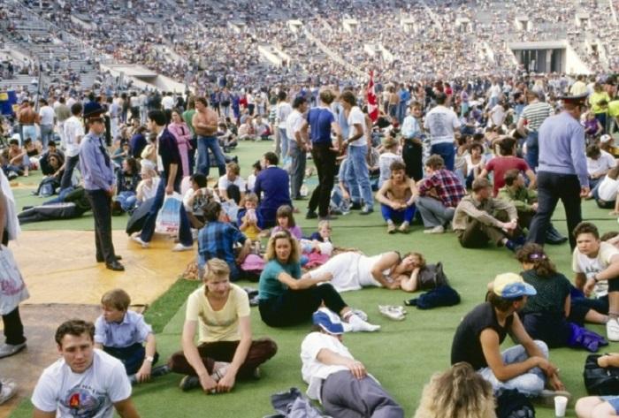 Первый международный рок-фестиваль «Moscow Peace Rock Festival» прошел в августе 1989 года.