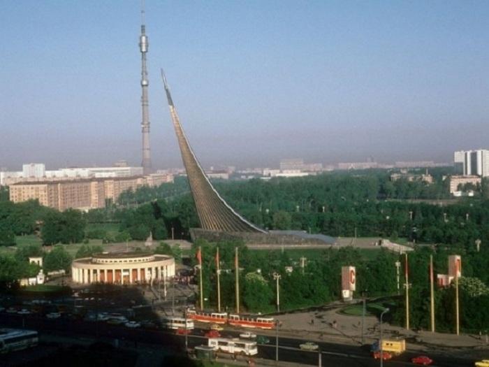 Выставка достижений народного хозяйства в Москве.