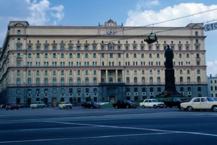 Здание Комитета госбезопасности на Лубянке.