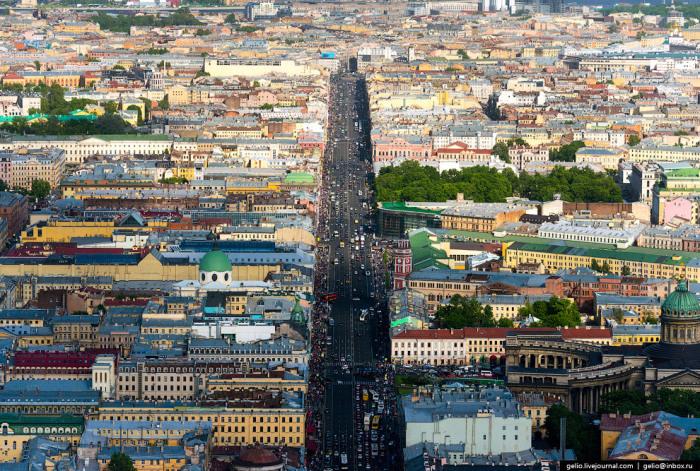 Главная улица Санкт-Петербурга.
