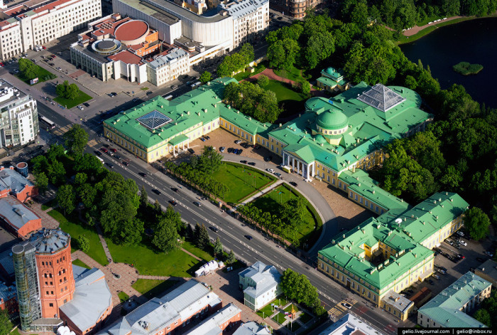 Штаб-квартира Межпарламентской ассамблеи государств — участников СНГ.
