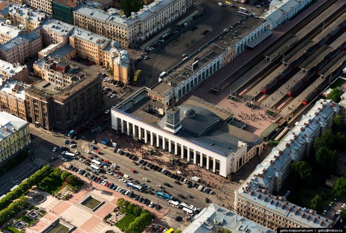 Пассажирский терминал станции Санкт-Петербург-Пассажирский-Финляндский, один из пяти действующих вокзалов Санкт-Петербурга.