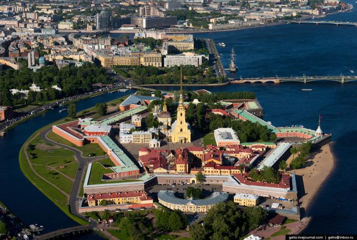 Историческое ядро города.