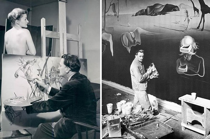 Знаменитые художники и их мастерские.