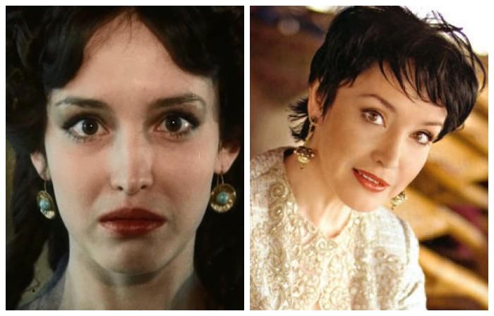 Главная женская роль - Мерседес, невеста Эдмона Дантеса, сделала юную актрису очень популярной и открыла дорогу в большое кино.
