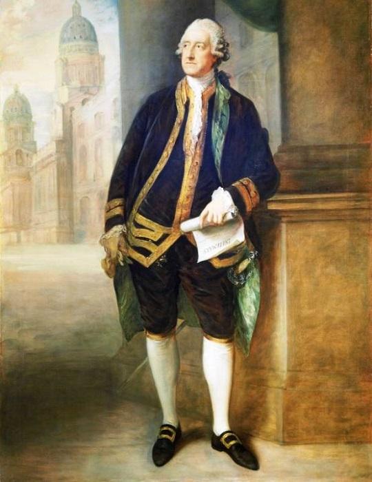 Джон Монтегю, 4-й граф Сэндвич (John Montagu, 4th Earl of Sandwich) английский дипломат, Первый лорд Адмиралтейства.