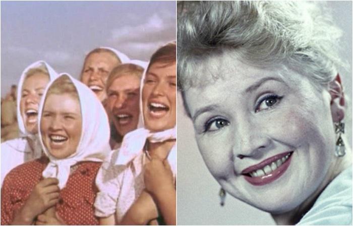 Советская актриса с уникальным голосом, на тот момент 22-летняя студентка, сыграла красавицу Любочку, подругу главной героини.