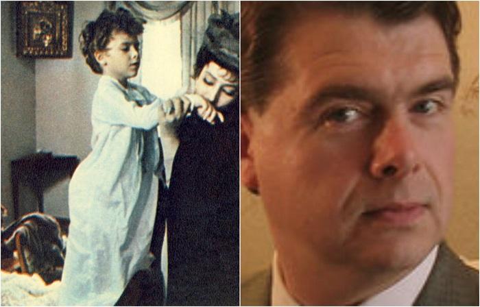 Роль восьмилетнего сына Анны Карениной исполнил советский актер театра и кино Василий Сахновский.