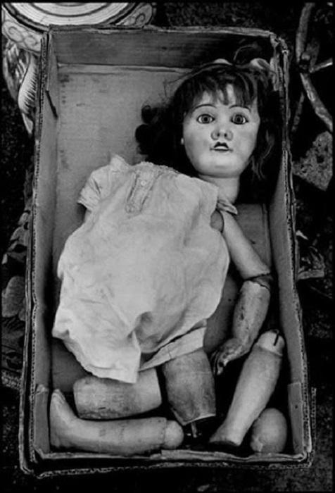 Кукла из прошлого.