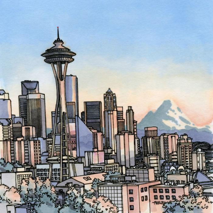 Самая узнаваемая достопримечательность города достигает в высоту 184 метра и весит 9550 тонн.
