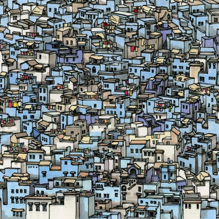 Уникальным обликом колоритный город, прозванный голубой жемчужиной Марокко, обязан андалузским евреям.