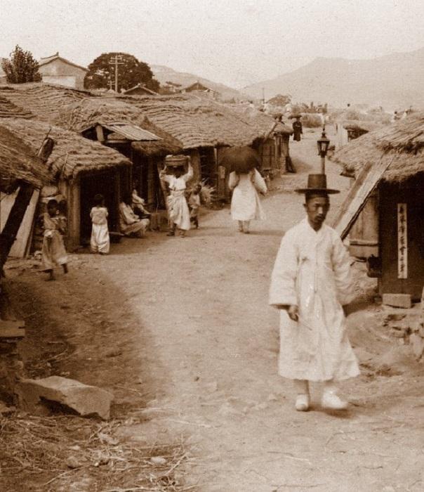 Пригород Сеула, 1904 год.