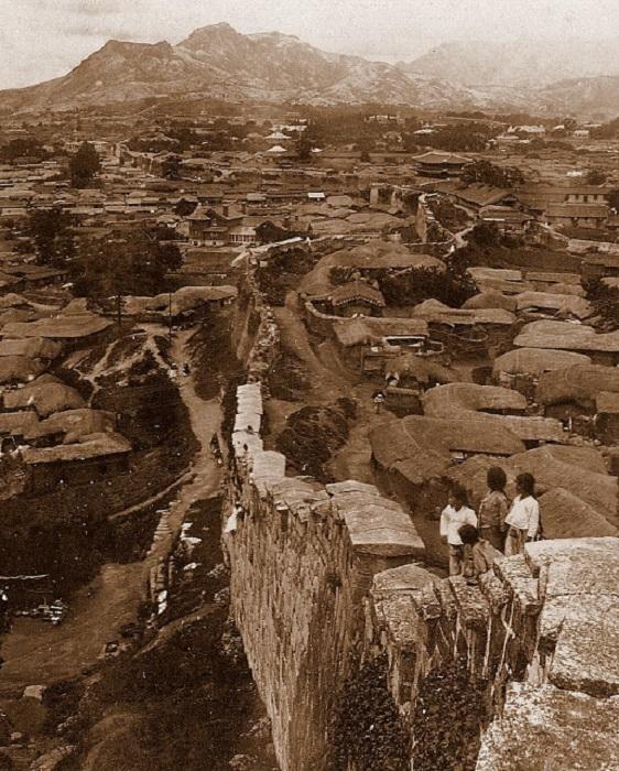 Сеул и пригород, 1904 год.