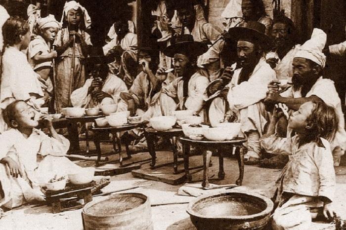 Жизнь корейцев в 1900-х годах.