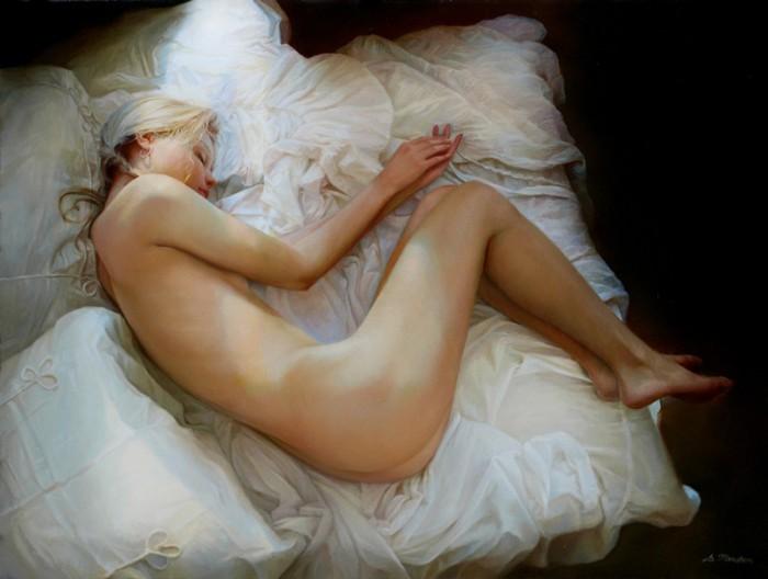 С грацией обнаженного женского тела не сравнится ничто на свете.