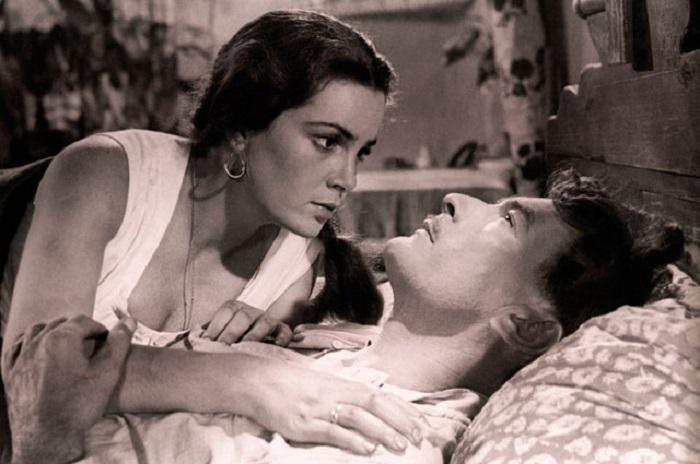 Элина Быстрицкая, игравшая Аксинью, наотрез отказывалась ложиться в одну кровать с Петром Глебовым. Пересилить себя смогла, только когда между «любовниками» положили одеяло.