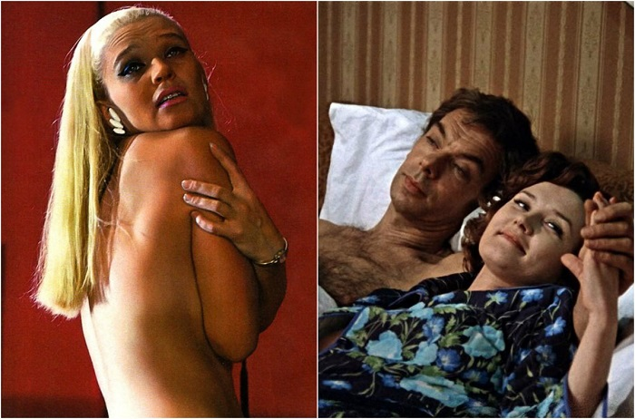 вырезанные эротические кадры из советских фильмов - 8