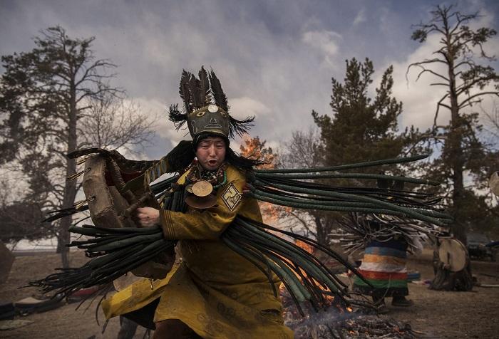 Древние традиции современных монголов на снимках фотожурналиста Кевина Фрайера.