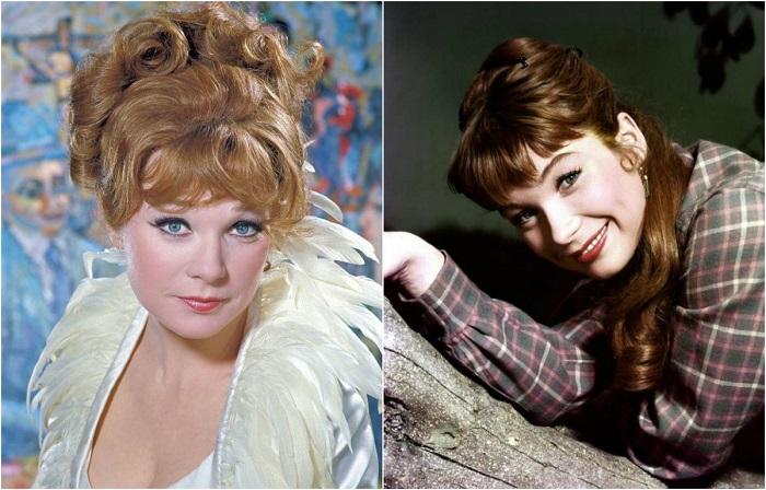 Американская кинозвезда Ширли Маклейн (Shirley MacLaine) на рубеже 1950-1960 годов.