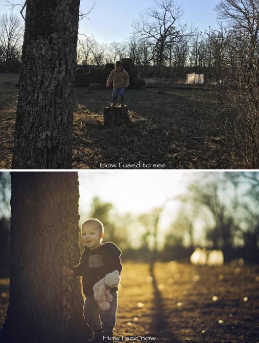 Одна и та же локация может выглядеть как пустырь или как идеальное место для детских прогулок – это зависит от мастерства фотографа.