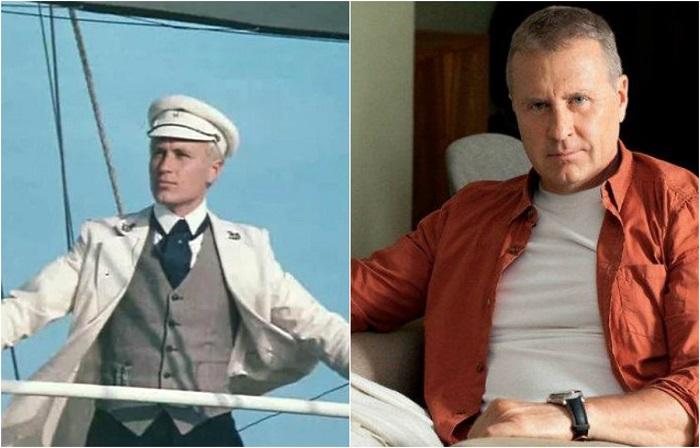 Блестяще справился с ролью молодого и влюбленного капитана «Дункана» Джона Манглса советский актёр театра и кино Олег Степанович.