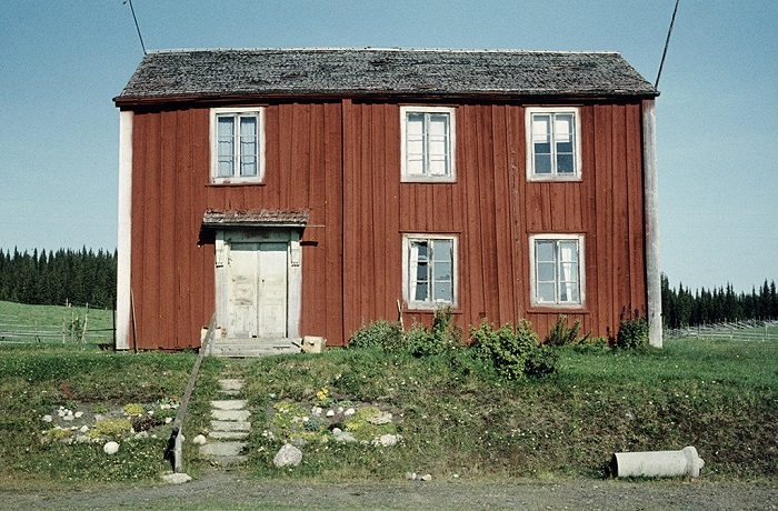 Заброшенная ферма на севере Швеции.