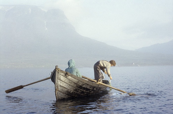 Озеро Сатихауре, заповедник Лапландии.
