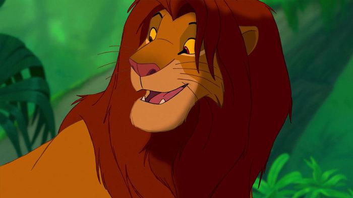 Главный герой популярного диснеевского мультфильма Король Лев.