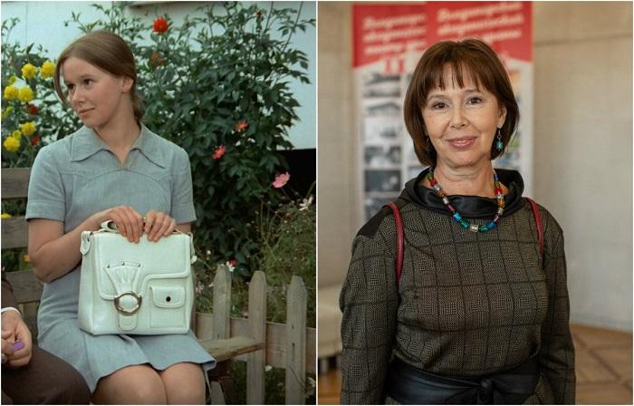 Любимица публики - народная артистка России Евгения Павловна, получила роль кареглазой Кати Снегирёвой, тайно влюбленной в главного героя со школьной скамьи.