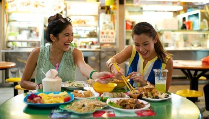 Уличная еда Сингапура не только безумно вкусная, но еще и здоровая.