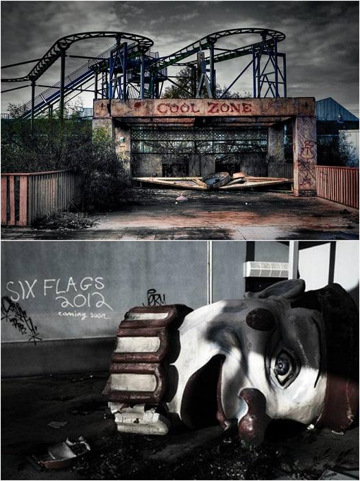 Парк развлечений был закрыт в 2005 году после урагана Катрина.