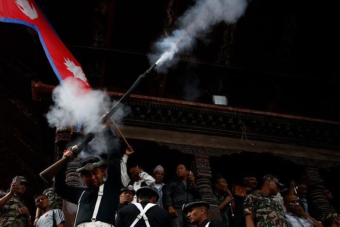 Праздник Индра Джатра отмечается в Непале восемь дней на главной площади Дарбар.