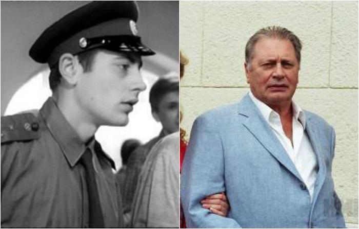 Дебют в кино - впервые появился на экране, сыграв эпизодическую роль милиционера, который покупает в отделе пластинок ГУМа.