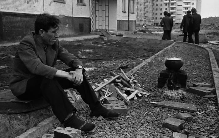 Новосел Ордженикидзевского района, Новокузнецк, 1984 год.
