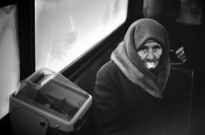 Еду по билету. Новокузнецк, Кузбасс, Сибирь, 1989 год.