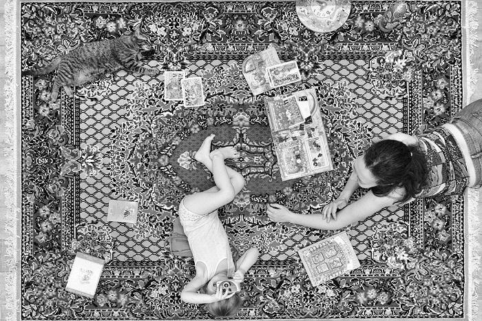 Работа фотографа специализирующегося на детской и семейной фотографии.