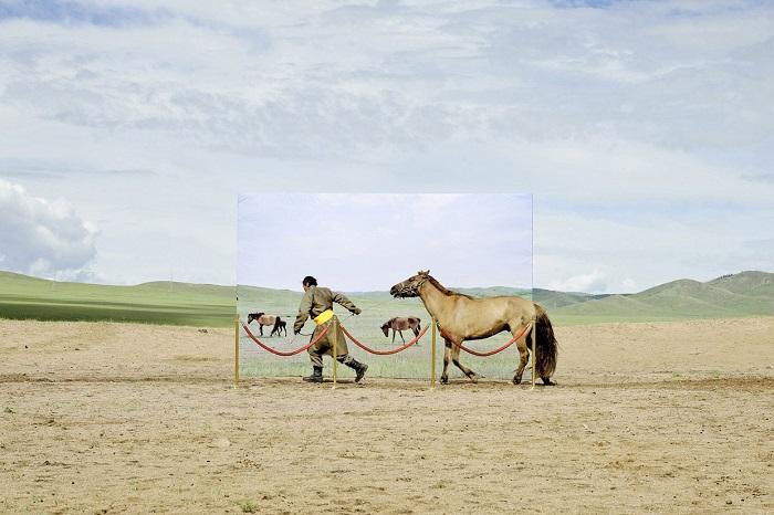 5% монголов до сих пор ведут кочевой образ жизни.