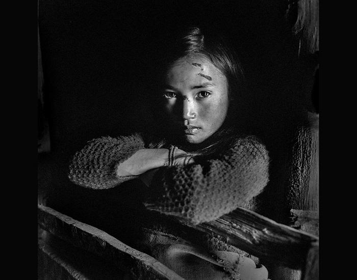 Этнические меньшинства в горах Ляншань, Китай.