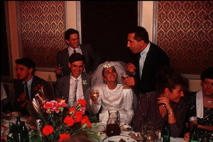 Одесская свадьба, 1988 год. Фотограф Бруно Барби (Bruno Barbey).