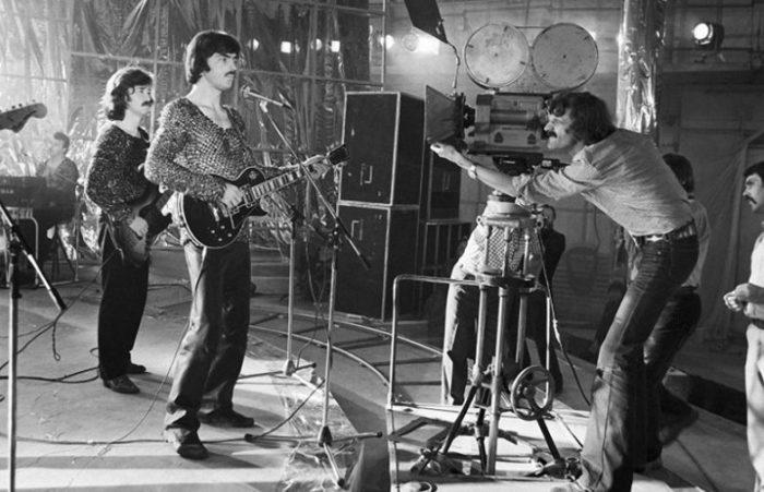 На съёмках кинофильма «Душа», 1981 год.